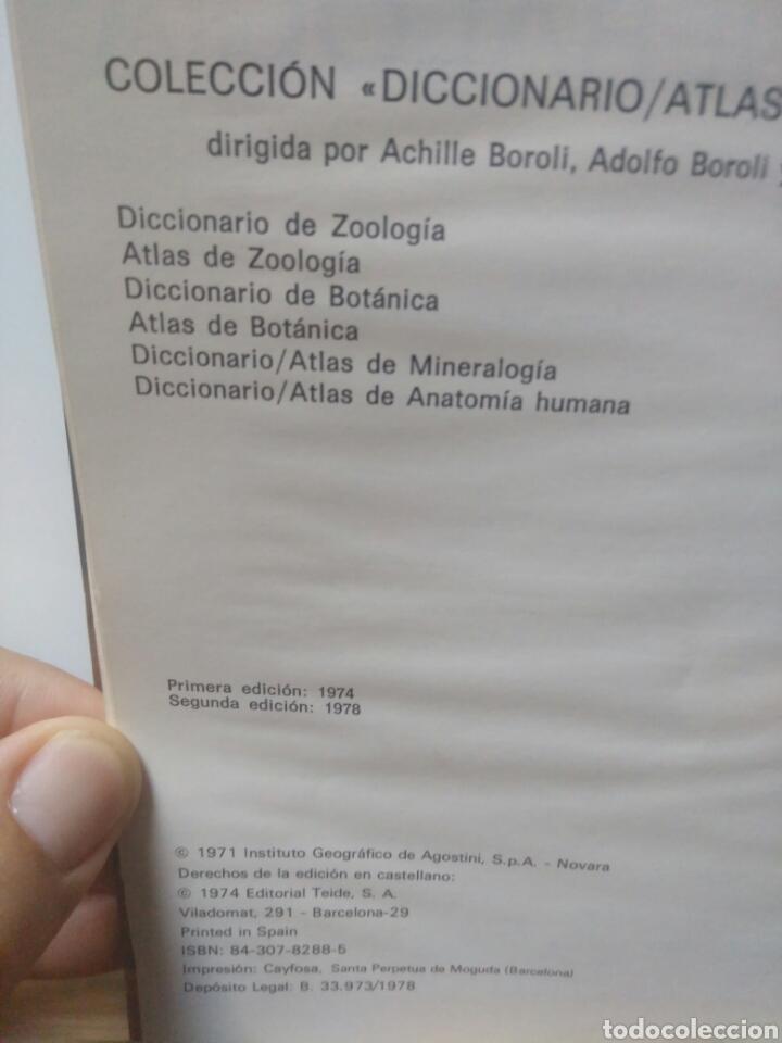 Libros de segunda mano: Diccionario Atlas de Minerologia. - Foto 3 - 217914930