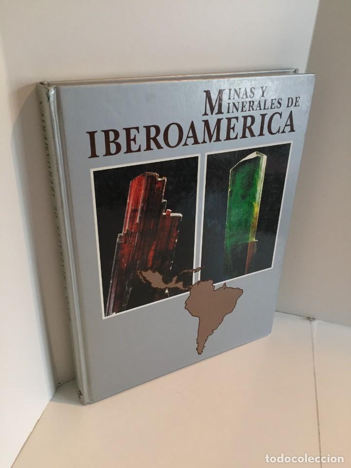 MINAS Y MINERALES DE IBEROAMERICA. INSTITUTO TECNOLÓGICO GEOMINERO DE ESPAÑA. MICYT. B. CALVO. (Libros de Segunda Mano - Ciencias, Manuales y Oficios - Paleontología y Geología)