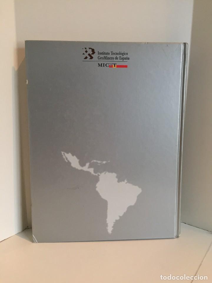 Libros de segunda mano: MINAS Y MINERALES DE IBEROAMERICA. INSTITUTO TECNOLÓGICO GEOMINERO DE ESPAÑA. MICYT. B. CALVO. - Foto 2 - 217988931