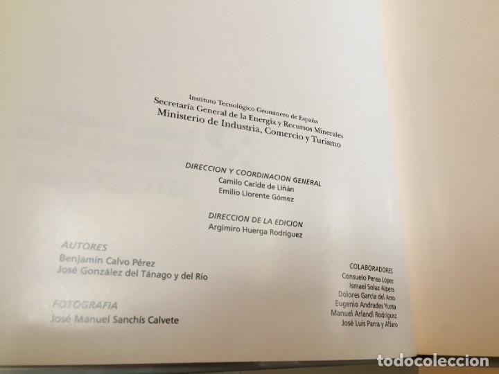 Libros de segunda mano: MINAS Y MINERALES DE IBEROAMERICA. INSTITUTO TECNOLÓGICO GEOMINERO DE ESPAÑA. MICYT. B. CALVO. - Foto 6 - 217988931