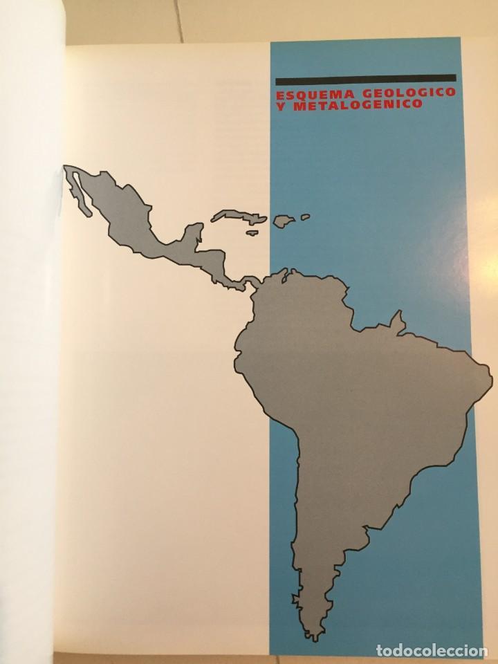 Libros de segunda mano: MINAS Y MINERALES DE IBEROAMERICA. INSTITUTO TECNOLÓGICO GEOMINERO DE ESPAÑA. MICYT. B. CALVO. - Foto 9 - 217988931