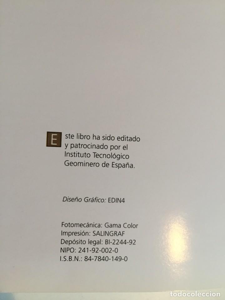 Libros de segunda mano: MINAS Y MINERALES DE IBEROAMERICA. INSTITUTO TECNOLÓGICO GEOMINERO DE ESPAÑA. MICYT. B. CALVO. - Foto 12 - 217988931