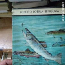 Livres d'occasion: PECES EMIGRANTES Y SALMONIDOS MUNDIALES, ROBERTO LOTINA BENGURIA. L.3858-554. Lote 218020433