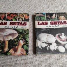 Libros de segunda mano: LAS SETAS DE LA A LA Z , TOMOS 1 Y 2 EDITA : EDICIONES NUEVA LENTE. Lote 218220703