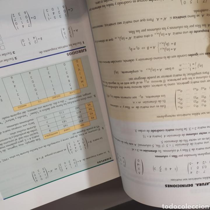 Libros de segunda mano de Ciencias: MATEMATICAS II- BACHILLERATO LOGSE 2, . COLERA Y OTROS. ED, ANAYA 1997. 420 PAGINAS. - Foto 7 - 218549426