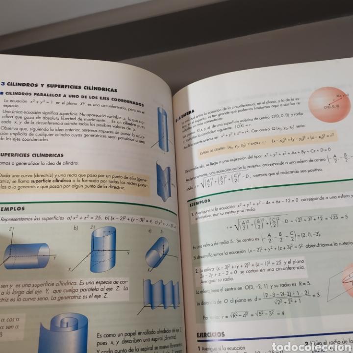 Libros de segunda mano de Ciencias: MATEMATICAS II- BACHILLERATO LOGSE 2, . COLERA Y OTROS. ED, ANAYA 1997. 420 PAGINAS. - Foto 11 - 218549426
