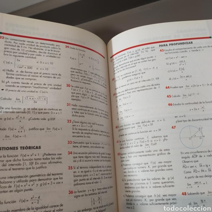 Libros de segunda mano de Ciencias: MATEMATICAS II- BACHILLERATO LOGSE 2, . COLERA Y OTROS. ED, ANAYA 1997. 420 PAGINAS. - Foto 13 - 218549426