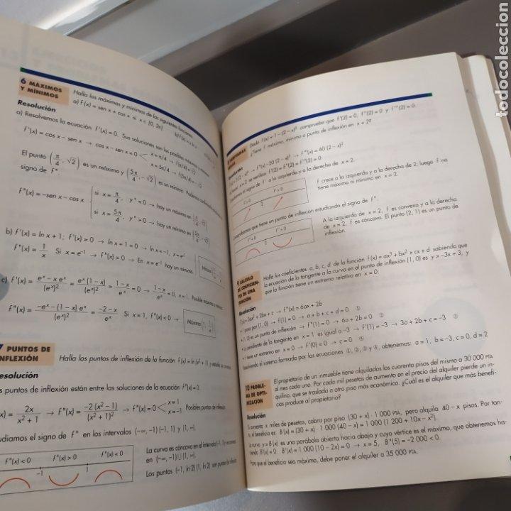 Libros de segunda mano de Ciencias: MATEMATICAS II- BACHILLERATO LOGSE 2, . COLERA Y OTROS. ED, ANAYA 1997. 420 PAGINAS. - Foto 14 - 218549426