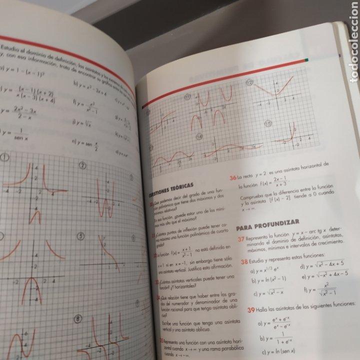 Libros de segunda mano de Ciencias: MATEMATICAS II- BACHILLERATO LOGSE 2, . COLERA Y OTROS. ED, ANAYA 1997. 420 PAGINAS. - Foto 17 - 218549426