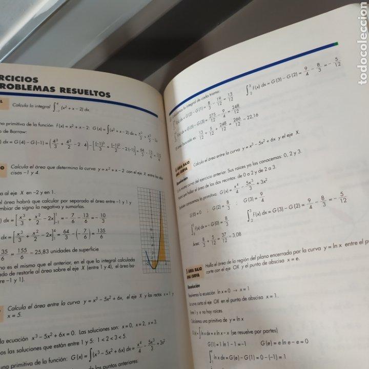 Libros de segunda mano de Ciencias: MATEMATICAS II- BACHILLERATO LOGSE 2, . COLERA Y OTROS. ED, ANAYA 1997. 420 PAGINAS. - Foto 19 - 218549426