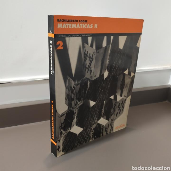 Libros de segunda mano de Ciencias: MATEMATICAS II- BACHILLERATO LOGSE 2, . COLERA Y OTROS. ED, ANAYA 1997. 420 PAGINAS. - Foto 22 - 218549426