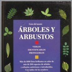 Libros de segunda mano: GUÍA DEL MONTE. ÁRBOLES Y ARBUSTOS. Lote 218633148