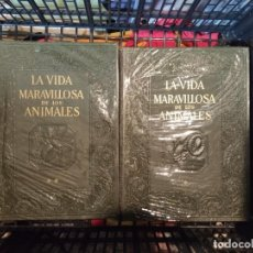 Livres d'occasion: LA VIDA MARAVILLOSA DE LOS ANIMALES, DOS TOMOS, INSTITUTO GALLACH, BARCELONA, 1969. Lote 218752553
