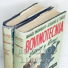 Libros de segunda mano: BOVINOTECNIA. TOMO I: EXTERIOR Y RAZAS. TOMO II: EXPLOTACIÓN DEL GANADO BOVINO. Lote 212079838