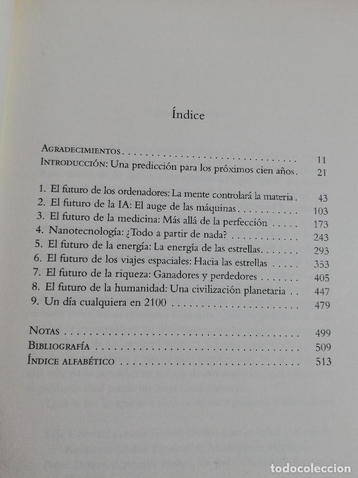 Libros de segunda mano de Ciencias: LA FÍSICA DEL FUTURO (MICHIO KAKU) - Foto 3 - 219073923