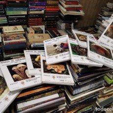 Libros de segunda mano: BOLETS DE CATALUNYA . 9 VOLUMS ( COL·LECCIÓ COMPLETA). 50 LÀMINES . 1982 A 1990 . CATALANA MICOLOGIA. Lote 219563987