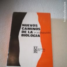 Libros de segunda mano: NUEVOS CAMINOS DE LA BIOLOGIA. PORTMANN. EDICIONES IBEROAMERICANAS. 1960. RUSTICA. 355 PAG. Lote 219682957