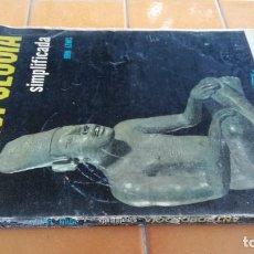 Libros de segunda mano: ANTROPOLOGIA SIMPLIFICADA - JOHN LEWIS - CIA GENERAL EDICIONES MEXICO X 102. Lote 219890151