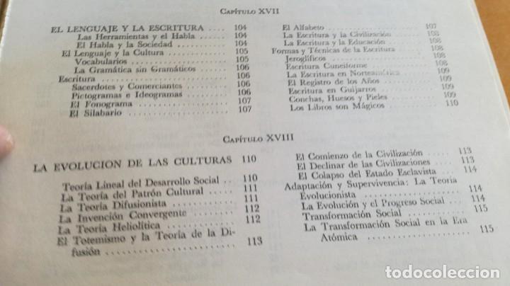 Libros de segunda mano: ANTROPOLOGIA SIMPLIFICADA - JOHN LEWIS - CIA GENERAL EDICIONES MEXICO X 102 - Foto 19 - 219890151