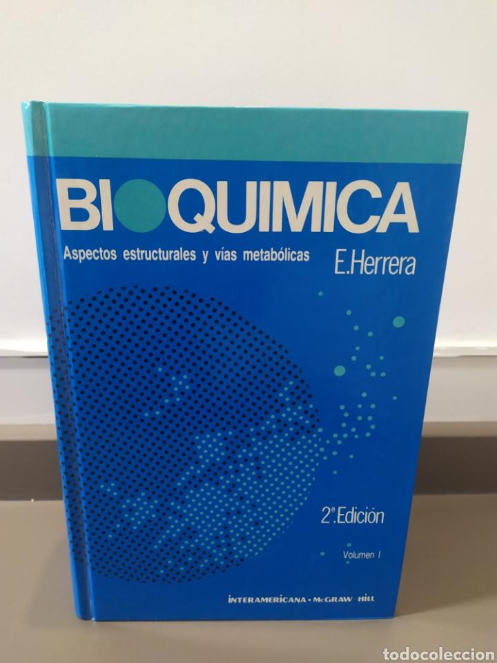 Libros de segunda mano de Ciencias: BIOQUÍMICA, BIOLOGÍA MOLECULAR Y BIOQUÍMICA FISIOLÓGICA. 2 VOLÚMENES. EMILIO HERRERA - McGRAW-HILL - Foto 4 - 220124780
