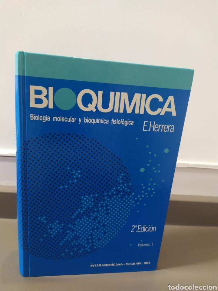 Libros de segunda mano de Ciencias: BIOQUÍMICA, BIOLOGÍA MOLECULAR Y BIOQUÍMICA FISIOLÓGICA. 2 VOLÚMENES. EMILIO HERRERA - McGRAW-HILL - Foto 15 - 220124780
