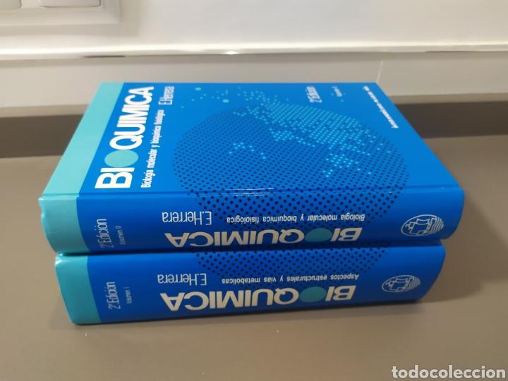 Libros de segunda mano de Ciencias: BIOQUÍMICA, BIOLOGÍA MOLECULAR Y BIOQUÍMICA FISIOLÓGICA. 2 VOLÚMENES. EMILIO HERRERA - McGRAW-HILL - Foto 27 - 220124780