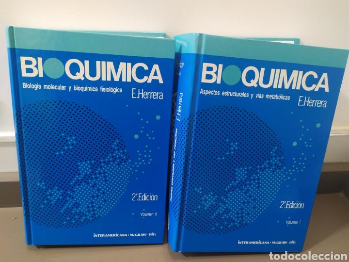 BIOQUÍMICA, BIOLOGÍA MOLECULAR Y BIOQUÍMICA FISIOLÓGICA. 2 VOLÚMENES. EMILIO HERRERA - MCGRAW-HILL (Libros de Segunda Mano - Ciencias, Manuales y Oficios - Física, Química y Matemáticas)