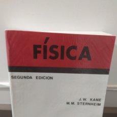 Libri di seconda mano: FÍSICA / JOSEPH W. KANE - MORTON M. STERNHEIM / EDITORIAL REVERTE, 1998 ( SEGUNDA EDICIÓN). Lote 220127261