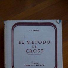 Livres d'occasion: EL MÉTODO DE CROSS. P. CHARON. EDIT.: AGUILAR.. Lote 220678158