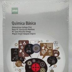 Libros de segunda mano de Ciencias: QUIMICA BASICA. ALEJANDRINA GALLEGO PICO. ROSA Mª GARCINUÑO MARTINEZ. UNED. NUEVO. TDK530. Lote 220985378