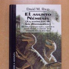 Libros de segunda mano: EL ASUNTO NÉMESIS (LA EXTINCIÓN DE LOS DINOSAURIOS) / 1994. EDICIONES DEL PRADO. Lote 221156593