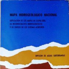 Libros de segunda mano: MAPA HIDROGEOLÓGICO NACIONAL.- TOMO 81. VARIOS. INST. GEOLÓGICO Y MINERO DE ESPAÑA 1979 ESTADO: ACEP. Lote 221479261
