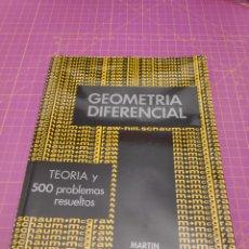 Libros de segunda mano de Ciencias: GEOMETRÍA DIFERENCIAL - MARTIN LIPSCHUTZ - SCHAUM. Lote 221582170
