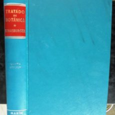Libros de segunda mano: TRATADO DE BOTÀNICA E. STRASBURGER 1971 5A ED. MARÍN 592 FIGURAS Y MAPA EN COLOR. Lote 221665523