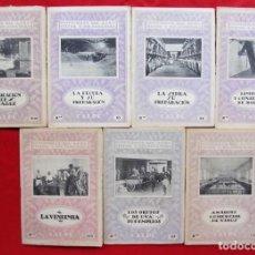 Libros de segunda mano: CATECISMO DEL AGRICULTOR Y DEL GANADERO. 7 CUADERNOS. SERIE X. CALPE. AÑO: 1922 - 1926.. Lote 221668806