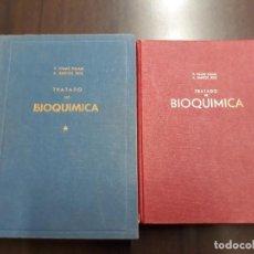 Libros de segunda mano de Ciencias: 2 VOLUMENES: TRATADO DE BIOQUÍMICA - V. VILLAR PALASI Y A. SANTOS RUIZ, 1965 Y1968, CASTELLANO. Lote 221743702