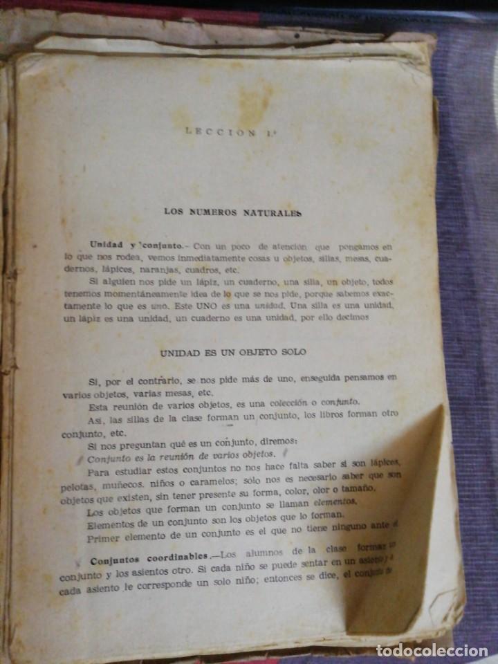 Libros de segunda mano de Ciencias: Matemáticas primer curso Bachillerato año 1958/Editorial Prieto Granada - Foto 2 - 221988136