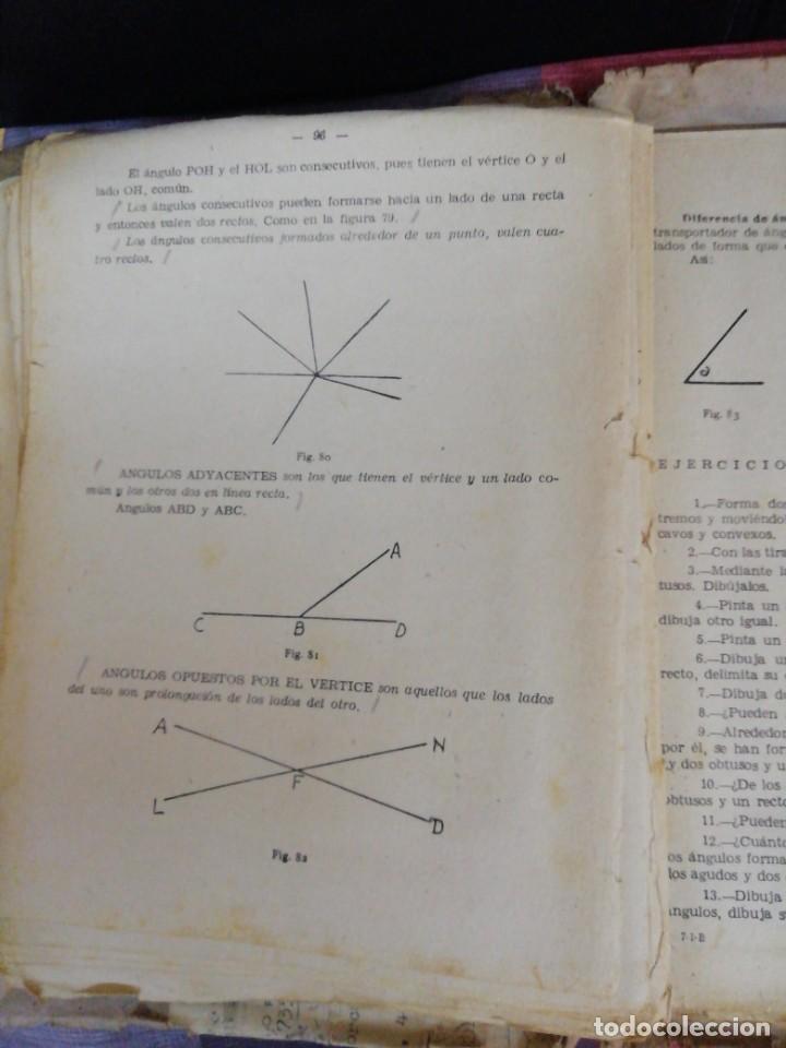 Libros de segunda mano de Ciencias: Matemáticas primer curso Bachillerato año 1958/Editorial Prieto Granada - Foto 4 - 221988136