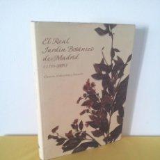 Libros de segunda mano: EL REAL JARDIN BOTANICO DE MADRID (1755-2005) - VARIOS AUTORES - LUNWERG Y CAJA MADRID 2005. Lote 222039800
