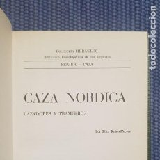 Livros em segunda mão: KRISTOFFERSEN, FINN: CAZA NÓRDICA. CAZADORES Y TRAMPEROS. Lote 222168053