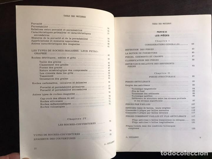 Libros de segunda mano: Cours du geologie du petrole. J. Guillemot. Desplegables. Difícil y buscado - Foto 3 - 222188247