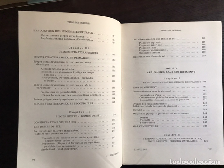 Libros de segunda mano: Cours du geologie du petrole. J. Guillemot. Desplegables. Difícil y buscado - Foto 4 - 222188247