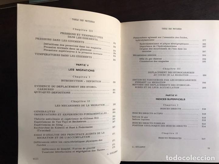 Libros de segunda mano: Cours du geologie du petrole. J. Guillemot. Desplegables. Difícil y buscado - Foto 5 - 222188247