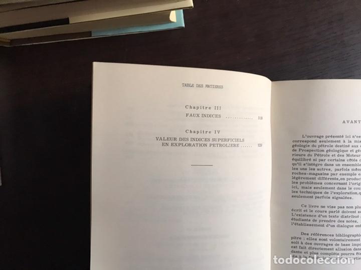 Libros de segunda mano: Cours du geologie du petrole. J. Guillemot. Desplegables. Difícil y buscado - Foto 6 - 222188247