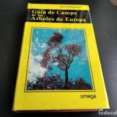Libros de segunda mano: GUIA DE CAMPO DE LOS ARBOLES DE EUROPA - GERD KRUSSMANN. Lote 222232141