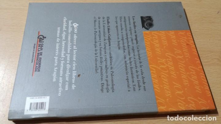 Libros de segunda mano: LOS FOSILES EN ARAGON / CAI 1OO ARAGON - COL - Foto 2 - 222267552