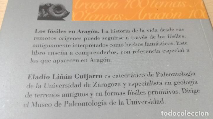 Libros de segunda mano: LOS FOSILES EN ARAGON / CAI 1OO ARAGON - COL - Foto 3 - 222267552