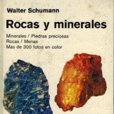 Libros de segunda mano: ROCAS Y MINERALES. Lote 222325198