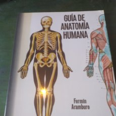 Libros de segunda mano: GUIA DE ANATOMIA HUMANA FERMIN ARAMBURO. Lote 222637923