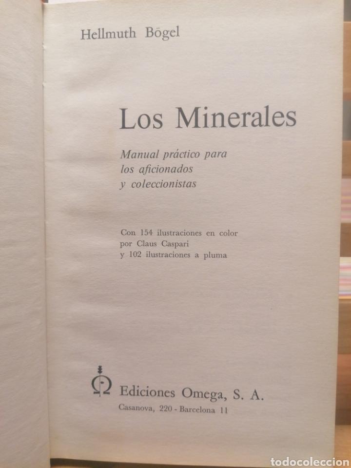 Libros de segunda mano: Los minerales. Hellmuth Bögel. Ed. Omega. Barcelona, 1977. - Foto 2 - 222690137
